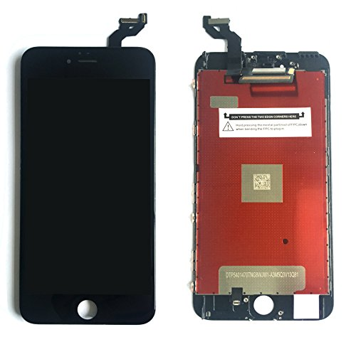 SZHSRLCD Black LCD For iPhone 6S Plus Screen Replacement Kit Digitizer Touch Screen Display Assembly With 3D Touch , Repair Tools For 6S Plus 5.5 Inch