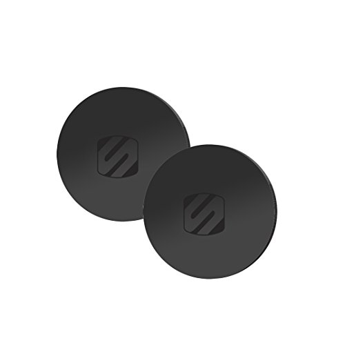 SCOSCHE MPRNDRK-SP MagicPlate PopSocket Compatible Metal Plates for use with Any MagicMount or MagicMount Pro Mount