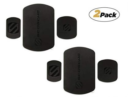 SCOSCHE MRK2PK-UB MagicPlate Replacement Plates for Scosche MagicMount and MagicMount Pro 2-Pack Black
