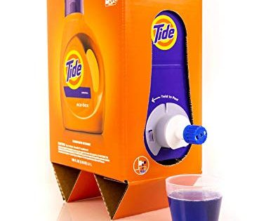Tide Liquid Laundry Detergent Eco-Box, Original Scent, 105 fl oz, 96 Loads