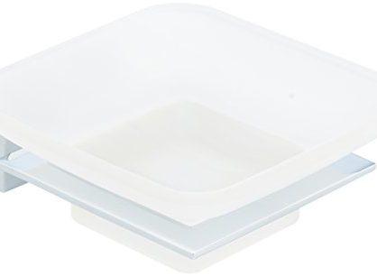 Polished Chrome - AmazonBasics Euro Soap Tray