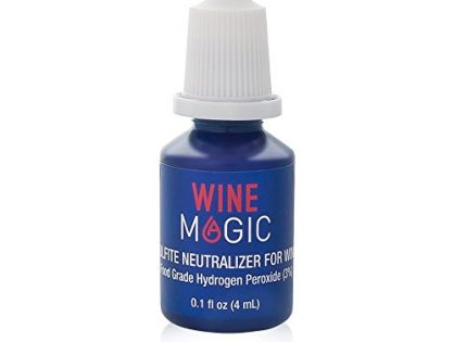 Wine Sulfite Remover by Wine Magic – Wine Purifier Drops For Red & White Wine and Any Alcohol Containing Sulfites – Perfect Alternative to a Wine Sulfite Filter