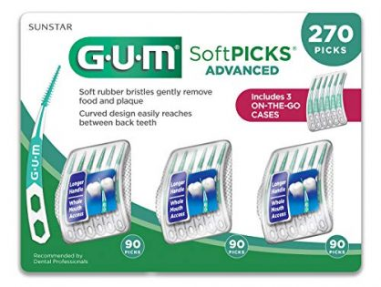 GUM Soft-Picks Advanced Dental Picks Pack of 270