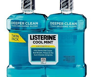 Listerine Antiseptic Cool Mint Mouthwash, 1.5 L, 50.72 oz Pack of 2