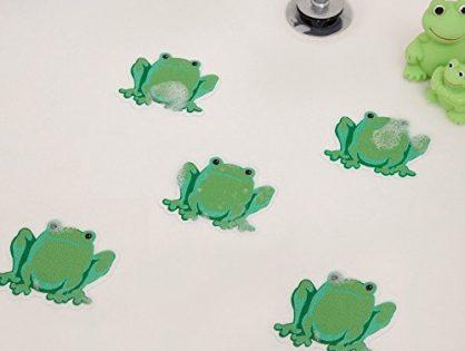 Safety Decals Treads Non Slip Frogs Applique Anti-Skid - Bathtub Shower Stickers
