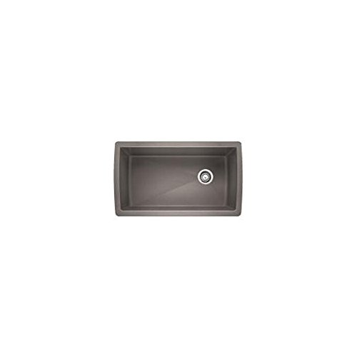 Blanco 441770 Diamond Super Single Bowl Sink, Metallic Gray