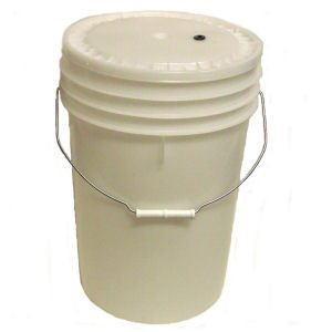 Brewmaster Brewcraft Homebrew Primary Fermenter with Plastic Lid, 6 Gal