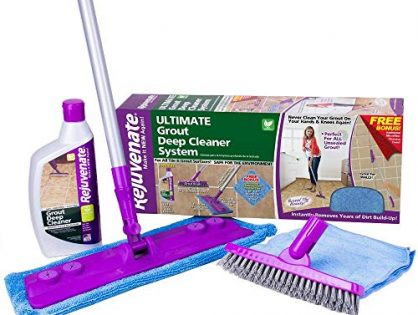 RJ24DCKIT - Rejuvenate Deep Cleaner and Grout Brush System, Acid Free