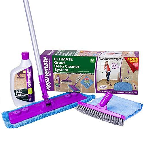RJ24DCKIT - Rejuvenate Deep Cleaner and Grout Brush System, Acid Free