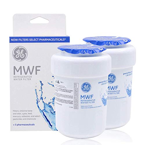 2PACK Genuine GE MWF MWFP 46-9991 GWF HWF WF28 Smart Water Fridge Water Filter New
