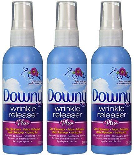 Downy Wrinkle Releaser, Travel Size Light Fresh Scent 3 fl oz - 3 Pack