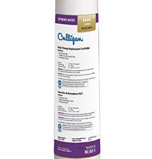 Culligan RC 1 EZ-Change Basic Water Filtration Replacement Cartridge, 3,000 Gallons, Multi