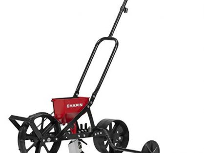 Chapin 8701B Garden Push seeder With 6 Seed Plates for Up to 20 Varieties Of Seeds, 1 Garden Seeder/Package
