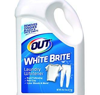 OUT White Brite Laundry Whitener, 4 lb. 12 oz. Bottle