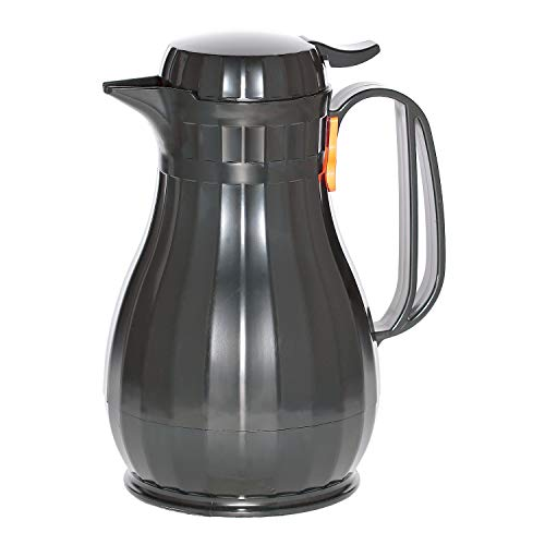 Service Ideas ECO13BL Server Eco-Serv 44 oz. Black