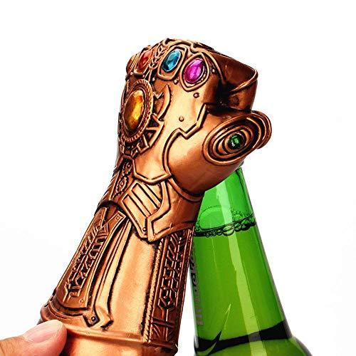 Aolvo Beer Bottle Opener, Marvel Studios Infinity War Infinity Gauntlet Thanos Glove Beer Wine Bottle Cap Opener,Great for for Bar, Party, Beer Lovers, Excellent Birthday Gifts for Kids Marvel Fans
