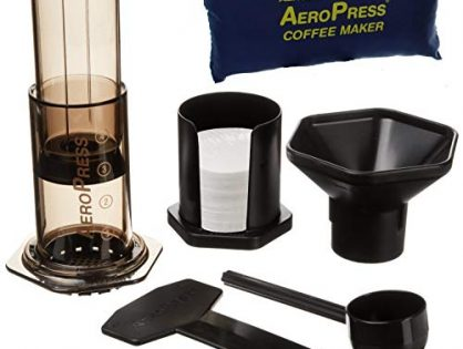 AeroPress Coffee and Espresso Maker with Tote Bag
