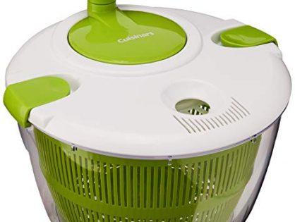 Cuisinart CTG-00-SAS Salad Spinner, Green and White