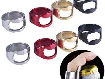 Beer Bottle Opener,Stainless Steel Bottle Opener,Ring Bottle Opener Best Bottle Openers Pack of 22mm 8 pack