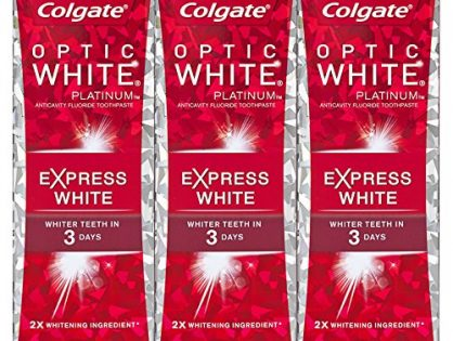 Colgate Optic White Express White Whitening Toothpaste - 3 ounce 3 Pack