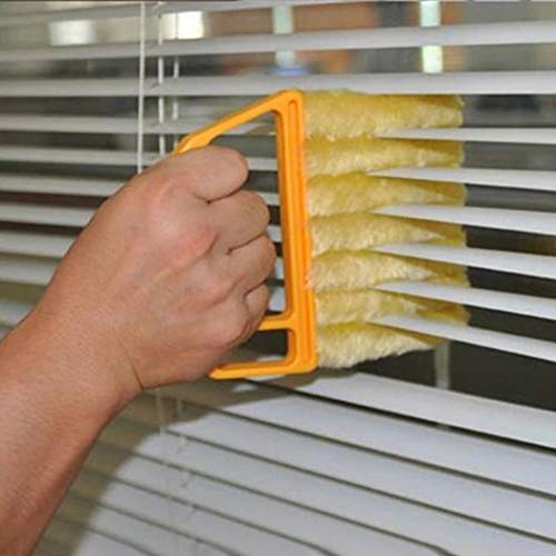 Iekofo Handheld Air Conditioner Shutters Window Blind Brush Dust Cleaner Household Tool Brushes
