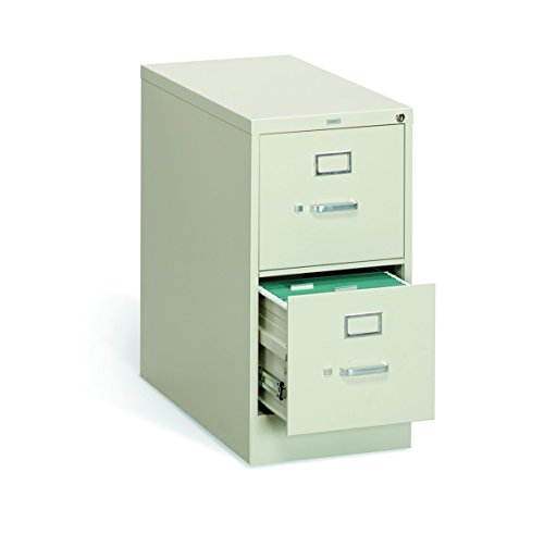 HON The Company P.L HON312PL 310 Series Vertical File Cabinet Letter Width, 2 Drawers, Putty H312,