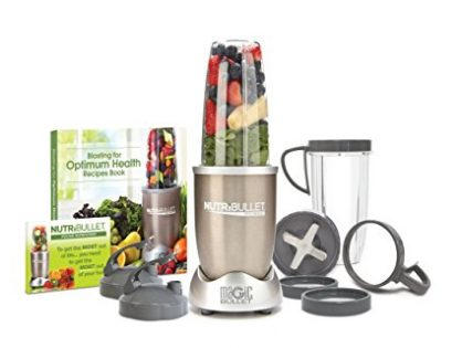 NutriBullet Pro - 13-Piece High-Speed Blender/Mixer System with Hardcover Recipe Book Included 900 Watts