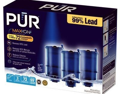 PUR Water Filter Replacement-Procter and Gamble Water Filter Cartridge, 3 Pack Replacement Cartridges
