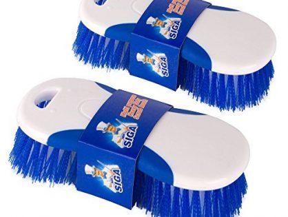 Pack of 2 - MR. SIGA Multi Purpose Heavy Duty Scrub Brush