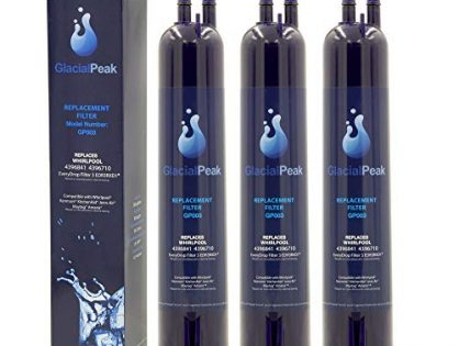 Water Filter 4396841 for Refrigerators Fits Most Whirlpool and Kenmore Refrigerators 4396841 (3-packs