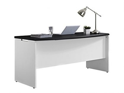Ameriwood Home Pursuit Executive Desk, Gray