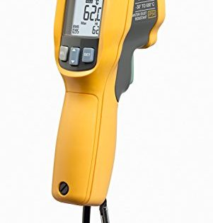 62 Max+ - Fluke 62 MAX Plus IR Thermometer, Non Contact, -20 to +1202 Degree F Range