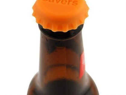 Save Brands Beer Savers Silicone Rubber Bottle Cap 6 Pack, Multicolor