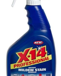 X-14 Professional Instant Mildew Stain Remover, Trigger Spray 32 oz