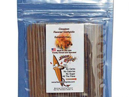 Cinnamon Toothpicks 100 qty Bulk Bag