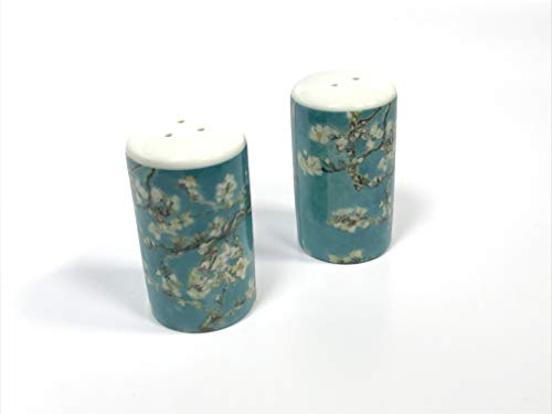 Van Gogh Salt & Pepper Almond Blossom Porcelain Shaker Set