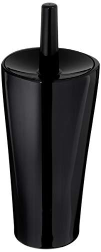 Liquid Black - AmazonBasics Toilet Bowl Brush and Holder