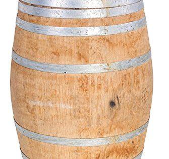 """MGP Oak Wood Whole Wine Barrel, 26"""" D x 35"""" H"""