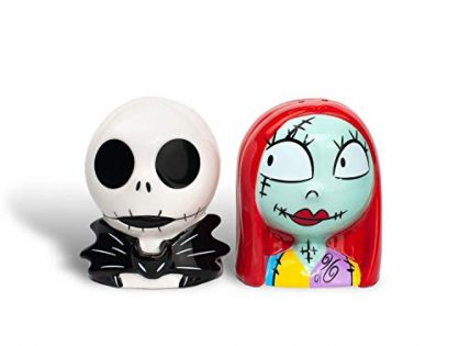 "Official ""The Nightmare Before Christmas"" Salt and Pepper Shakers 