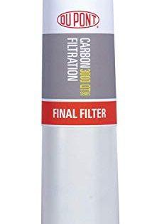 DuPont WFQTC30001 QuickTwist Carbon Block Filter Cartridge 2 Pack