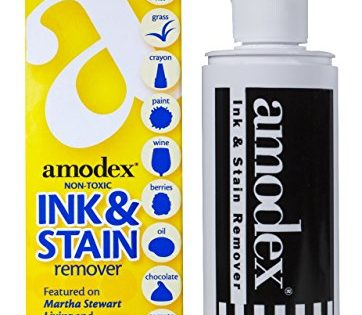Amodex Ink and Stain Remover liquid solution 4 fl oz Bottle