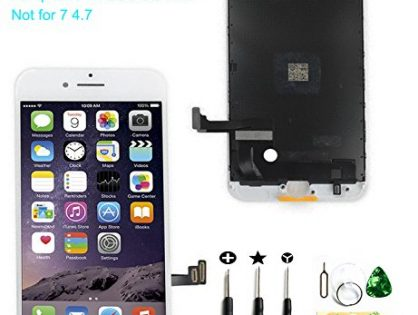passionTR Screen Replacement fits iPhone 7 Plus 5.5 inch LCD Screen Display digitizer Assembly Full Complete Front Glass 3D Touch Screen White