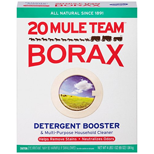 20 Mule Team Borax Laundry Booster 65oz Pack of 4
