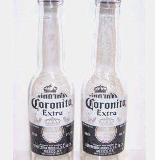 Coronita Extra Set of Collectible Salt and Pepper Shakers