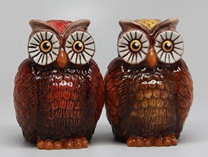 OWLS - ATTRACTIVES SALT AND PEPPER SHAKER