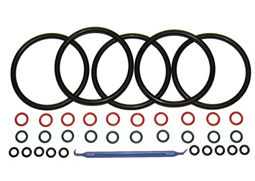 5 sets Captain O-Ring COLOR CODED Gasket Set for Cornelius Home Brew Keg w/o-ring pick