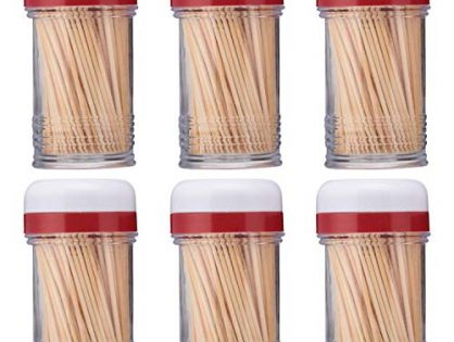 Good Cook Touch Shake-A-Pick Toothpick Dispenser 6-Pack