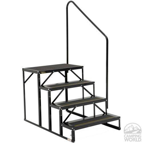 Stromberg Carlson EHS-103-R Park Model Econo Porch-3-Step, Black