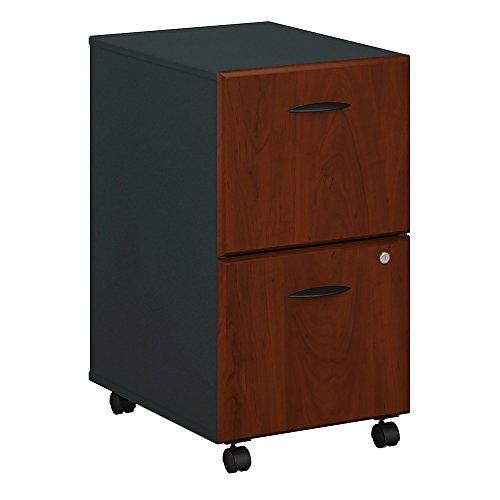 Bush Business Furniture WC94452P Series A 2 Drawer Mobile File Cabinet, Hansen Cherry/Galaxy