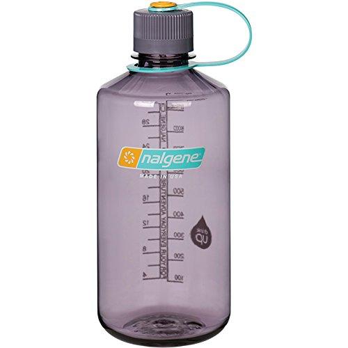 Nalgene Tritan 32 oz Narrow Mouth BPA-Free Water Bottle, Aubergine